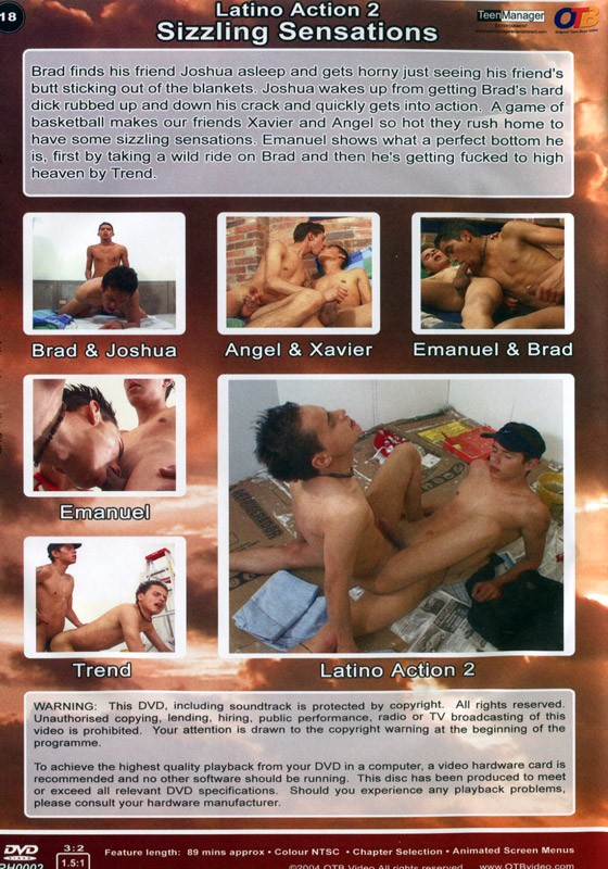 Latino Action 2: Sizzling Sensation DVD - Back