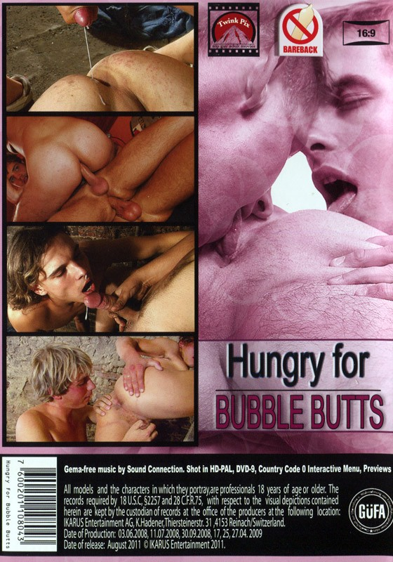 Hungry for Bubble Butts DVD - Back