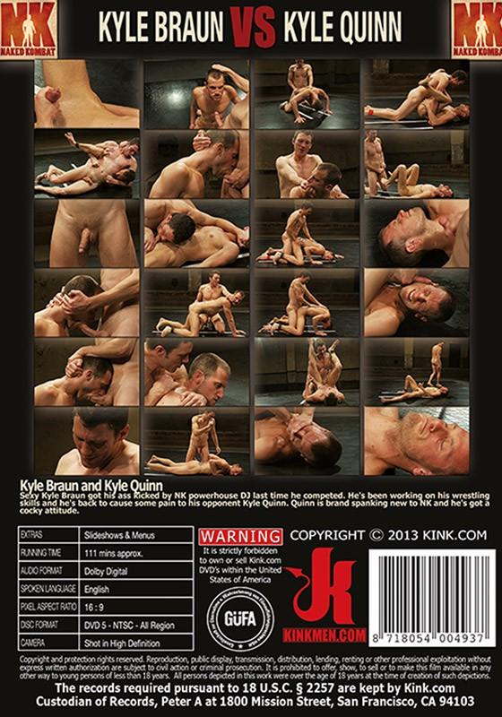 Naked Kombat 20 DVD (S) - Back
