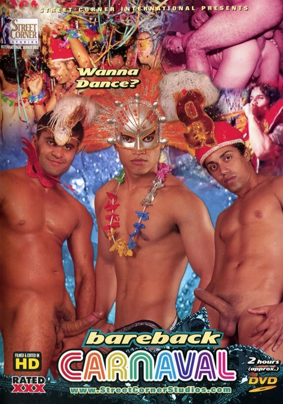 Bareback Carnaval DVD - Front