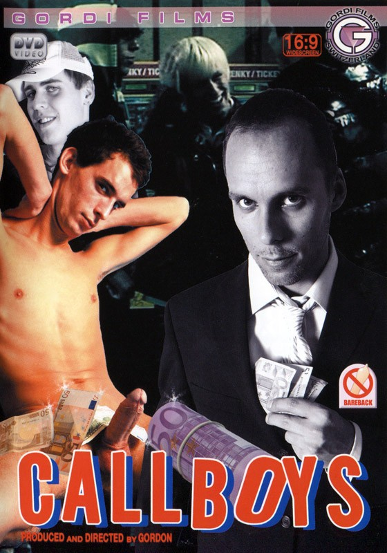 Call Boys DVD - Front