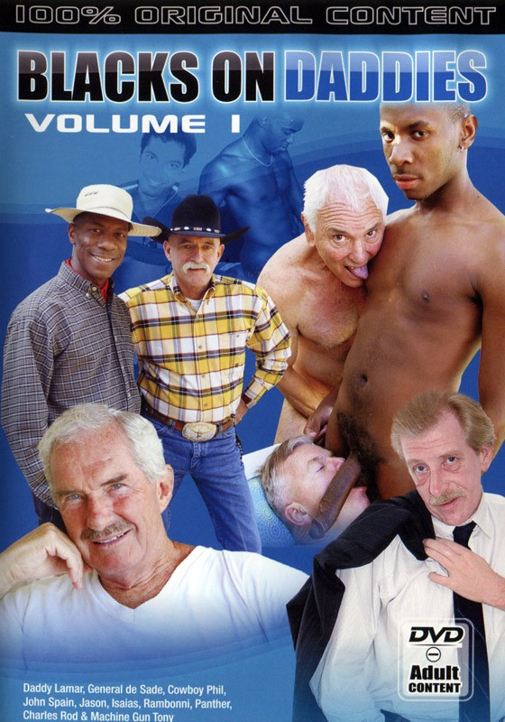 Blacks on Daddies Vol. 1 DVD - Front