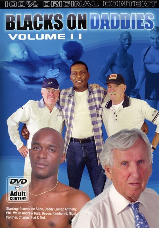 Blacks on Daddies Vol. 2 DVD - Front