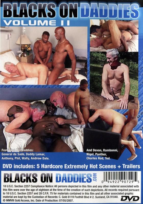 Blacks on Daddies Vol. 2 DVD - Back