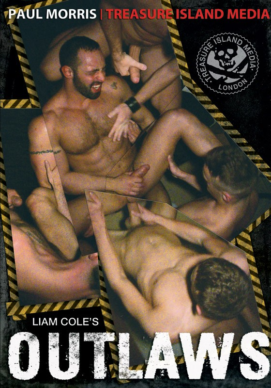 Outlaws DVD - Front