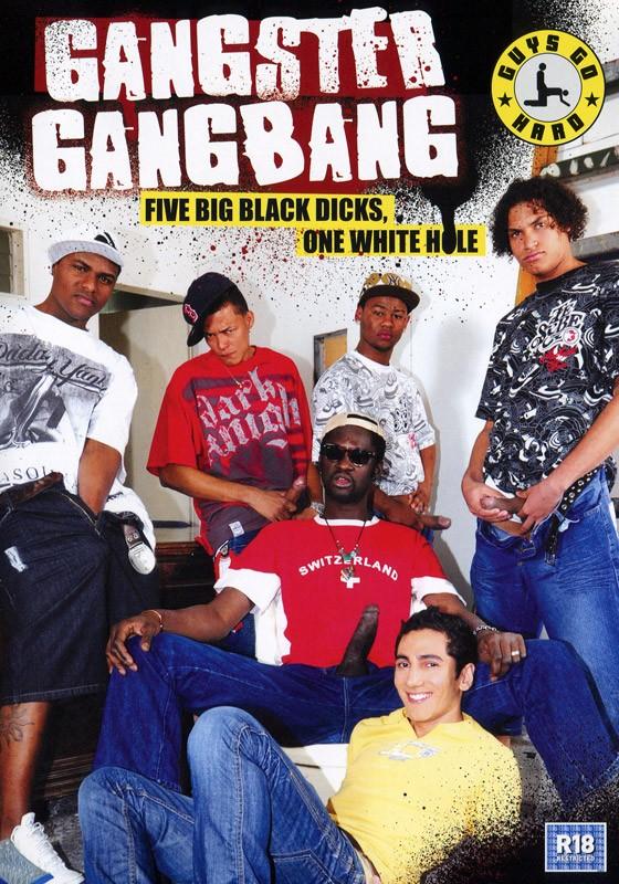 Gangster Gangbang DVD - Front