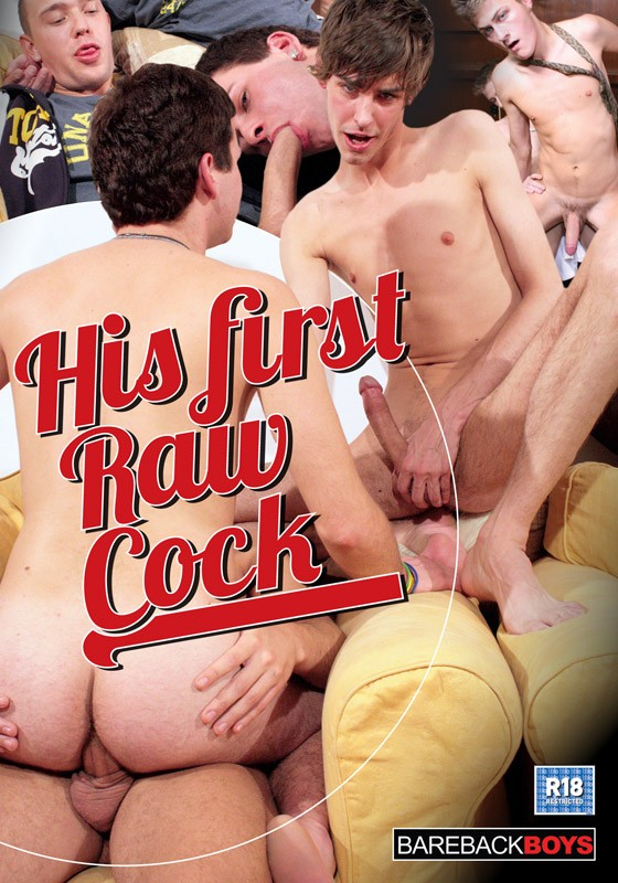 His First Raw Cock DVD - Front