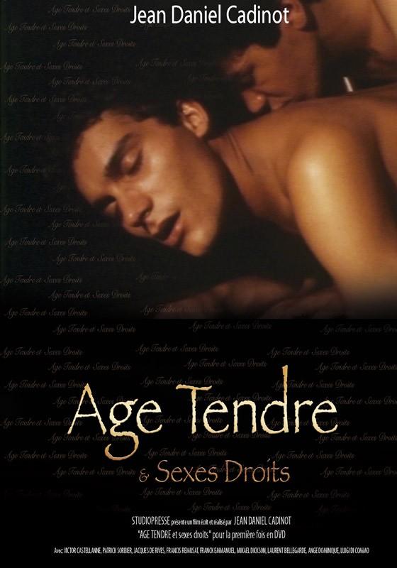 Age Tendre et Sexes Droits DVD - Front