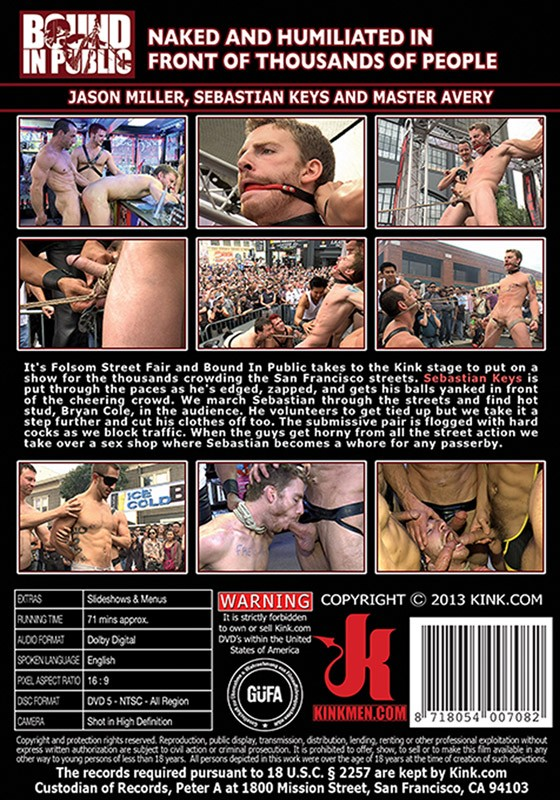 Bound In Public 42 DVD (S) - Back