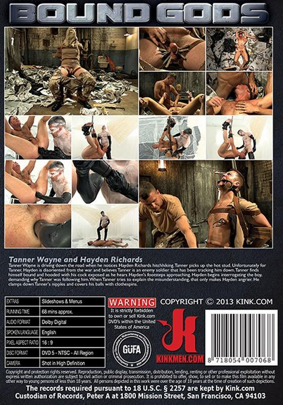Bound Gods 34 DVD (S) - Back