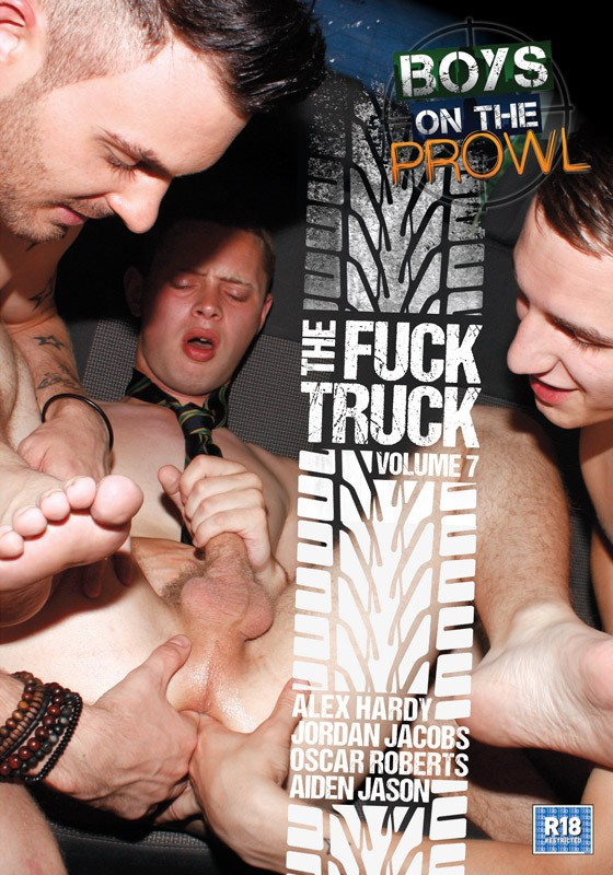 Boys On The Prowl 7: The Fuck Truck DVD - Front