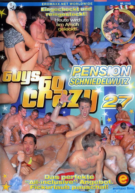 Guys Go Crazy 27: Cock Rock Hotel DVD - Front