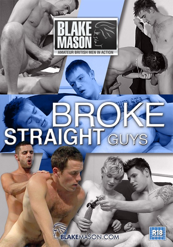 Broke Straight Guys DVD - Front
