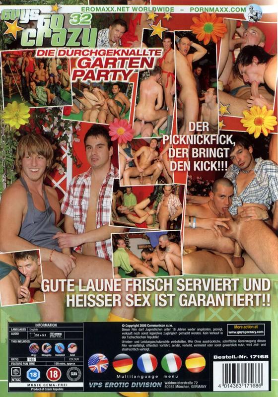 Guys Go Crazy 32: Garden Party DVD - Back