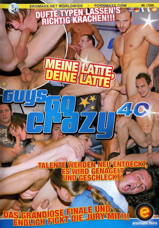 Guys Go Crazy 40: GGC's Got Talent DVD - Front