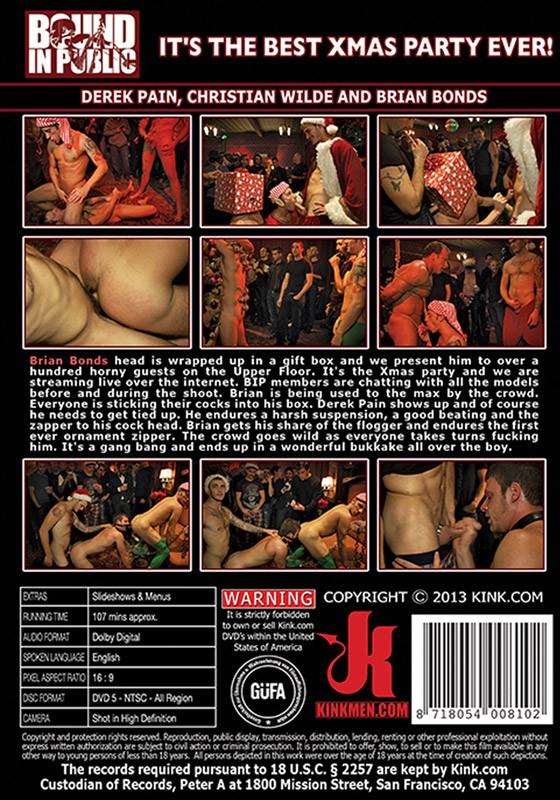 Bound In Public 45 DVD (S) - Back