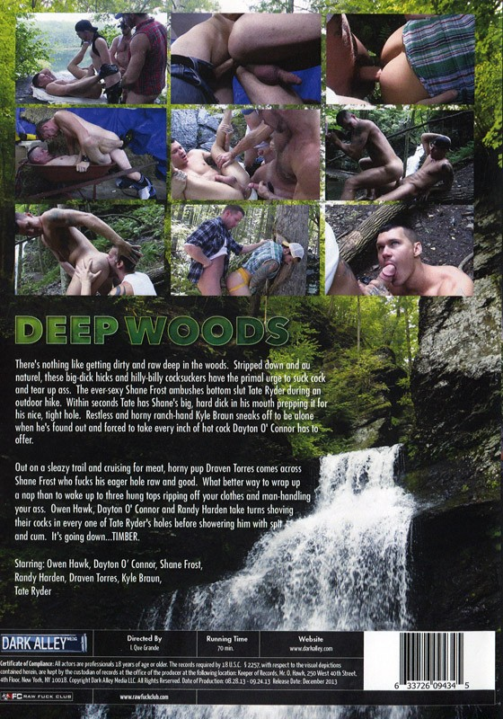 Deep Woods DVD - Back