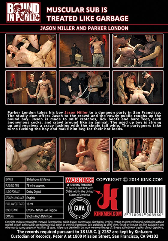 Bound In Public 48 DVD (S) - Back