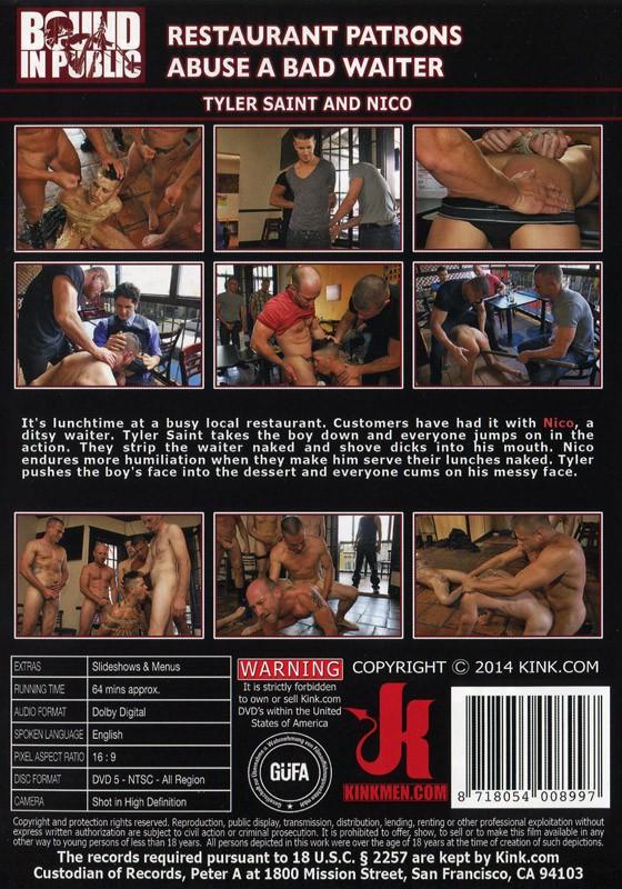 Bound In Public 49 DVD (S) - Back