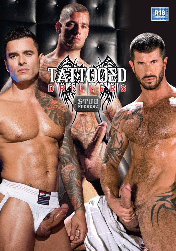 Tattoed Drillers DVD - Front