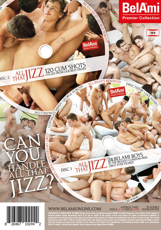 All That Jizz DVD - Back