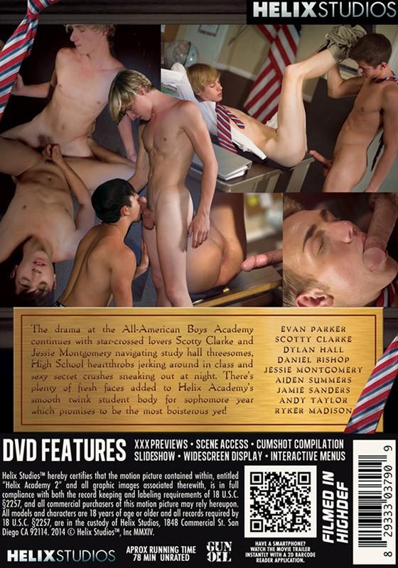 Helix Academy 2 DVD - Back