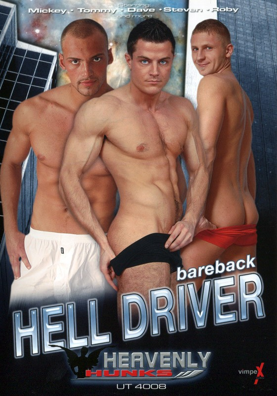 Bareback Hell Driver DVD - Front