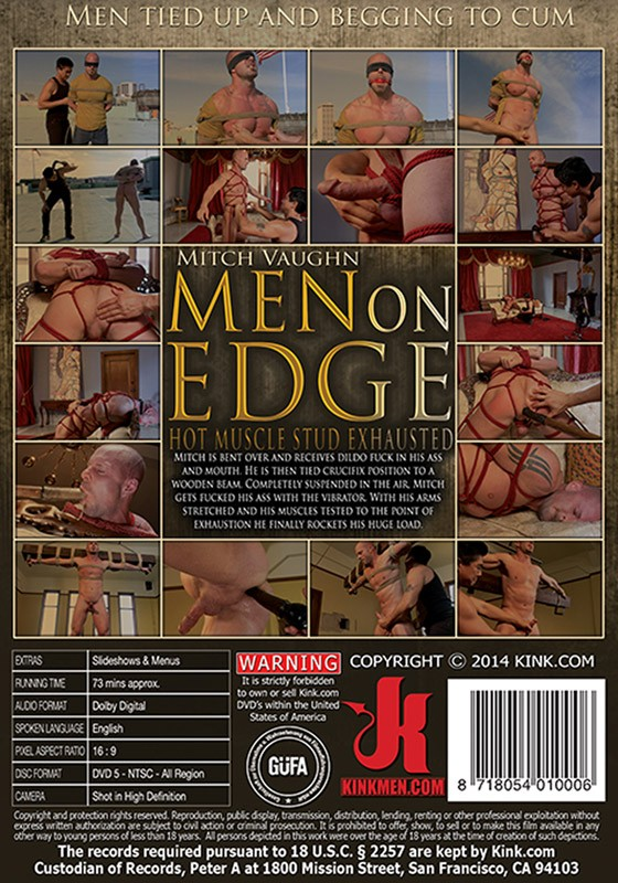 Men On Edge 16 DVD (S) - Back