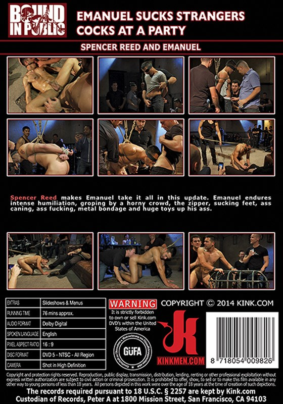 Bound In Public 53 DVD (S) - Back