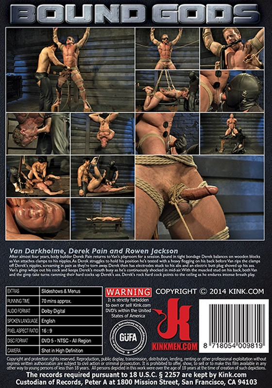 Bound Gods 40 DVD (S) - Back
