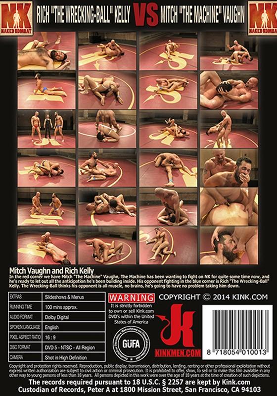 Naked Kombat 30 DVD (S) - Back