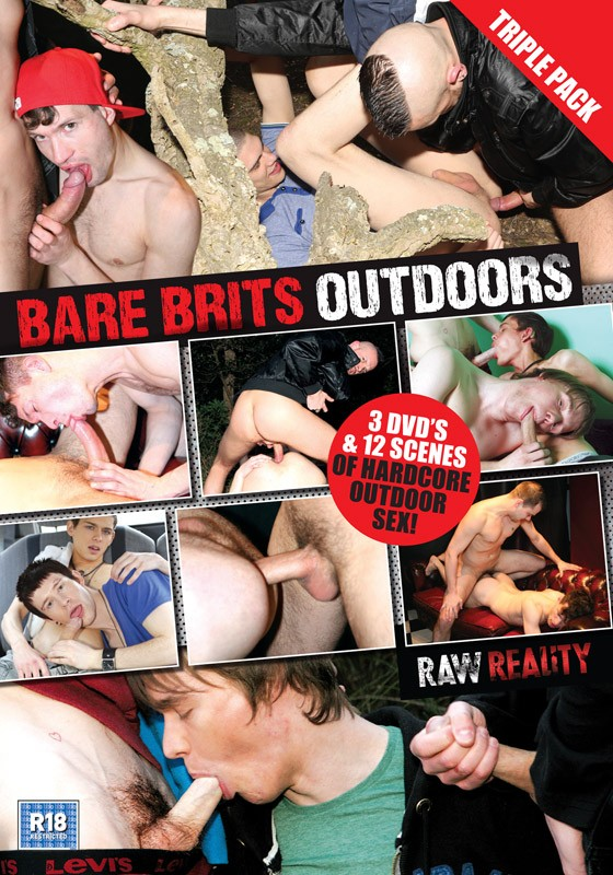 Bare Brits Outdoors DVD - Front