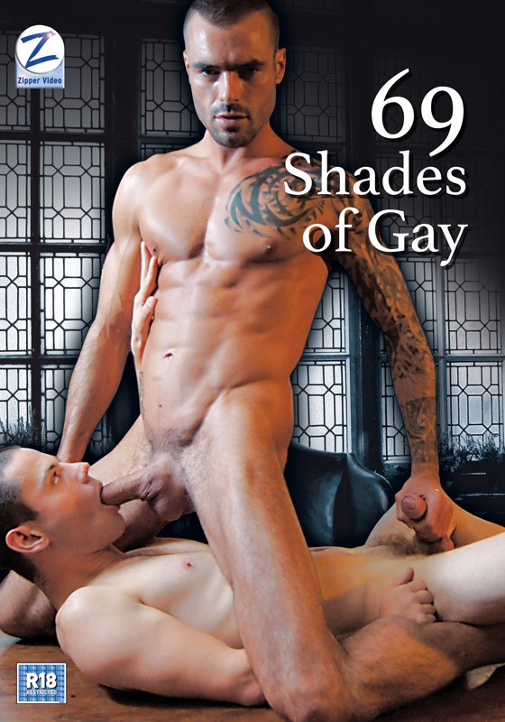 69 Shades Of Gay DVD - Front