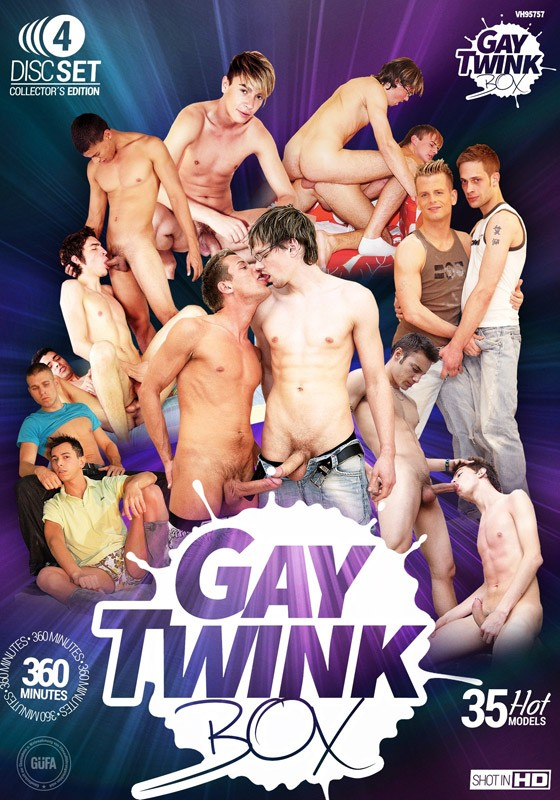 Gay Twink Box DVD - Front