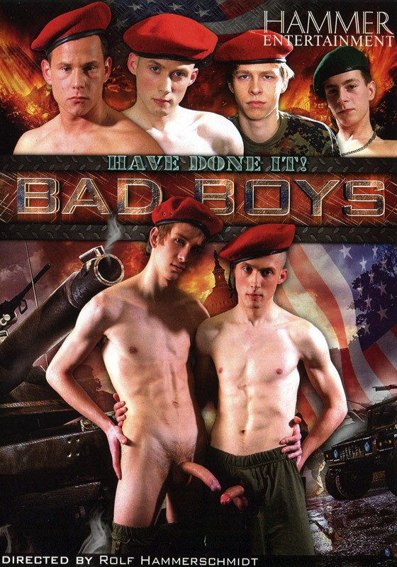 Bad Boys Have Done It DVD - Front