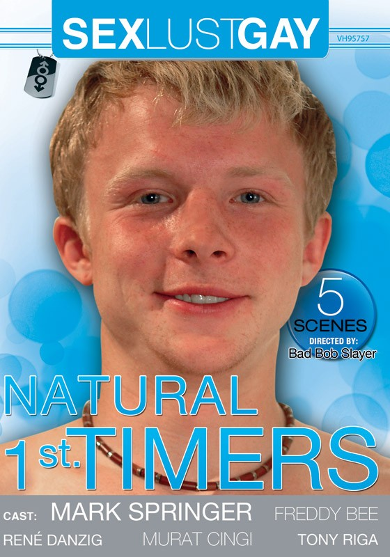 Natural 1st Timers DVD - Front