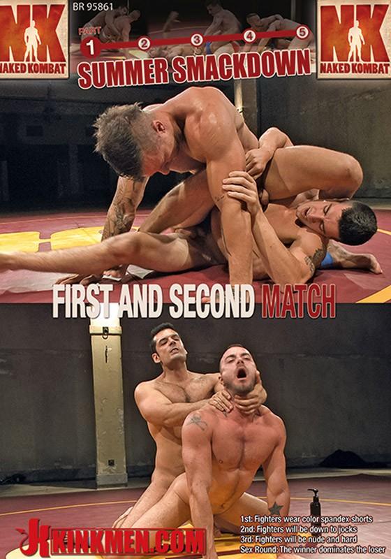 Naked Kombat 32 DVD (S) - Front