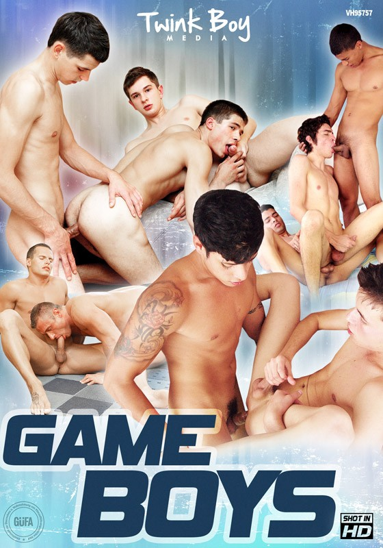 Game Boys DVD - Front