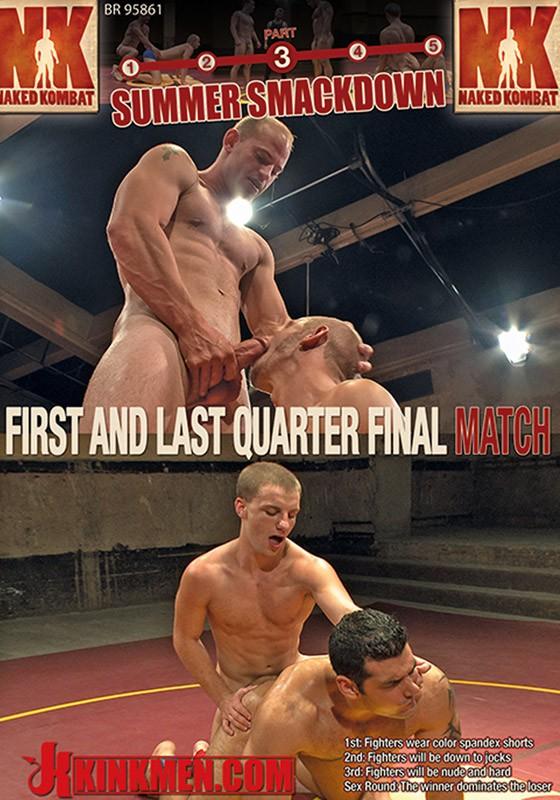 Naked Kombat 34 DVD (S) - Front