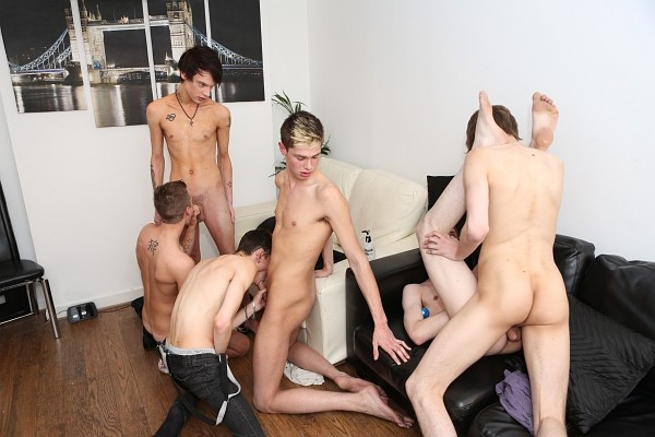 Bareback Boy Party DVD - Gallery - 015