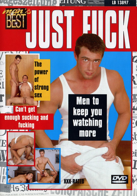 Just Fuck (Mans Best) DVD - Front