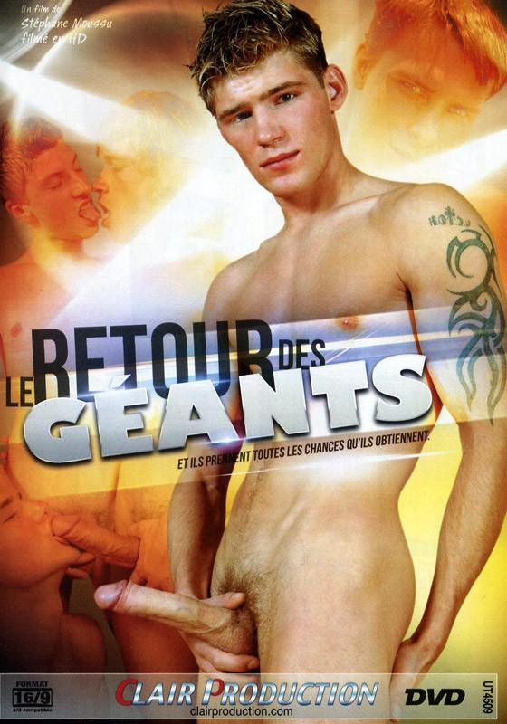 Le Retour Des Géants DVD - Front
