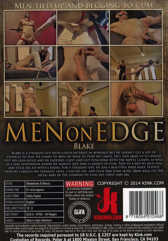 Men On Edge 21 DVD (S) - Back