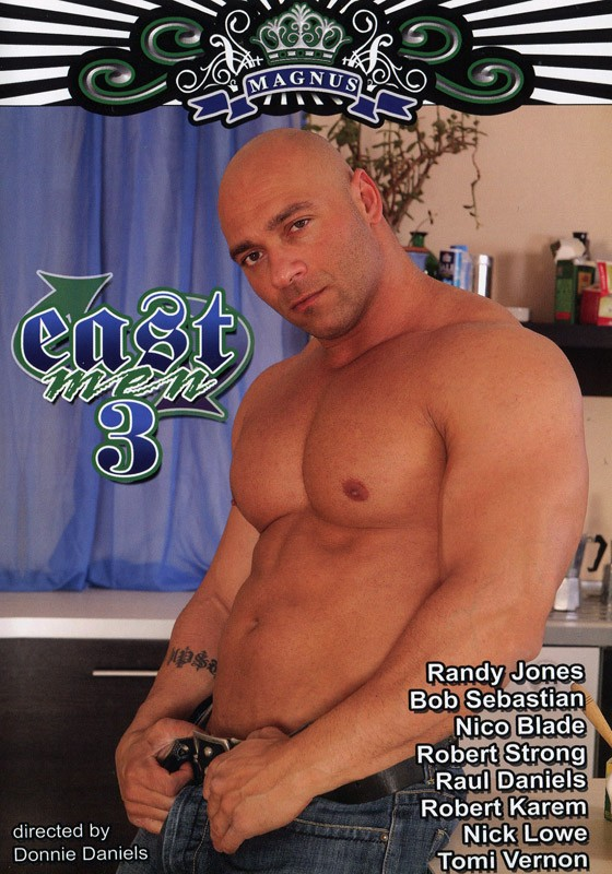 East Men 3 DVD - Front