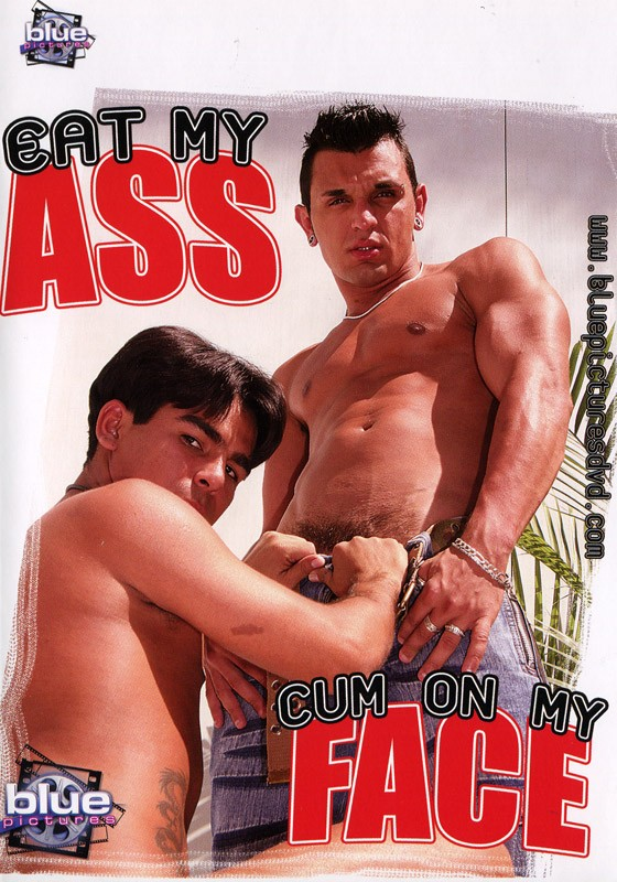 Eat My Ass Cum On My Face DVD - Front