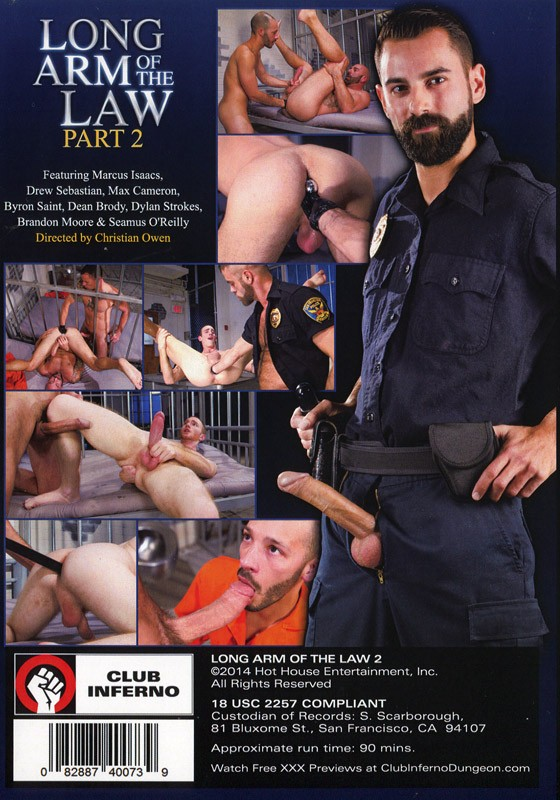 Long Arm Of The Law Part 2 DVD - Back