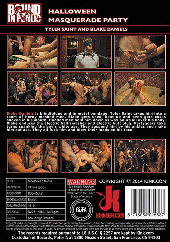 Bound In Public 65 DVD (S) - Back