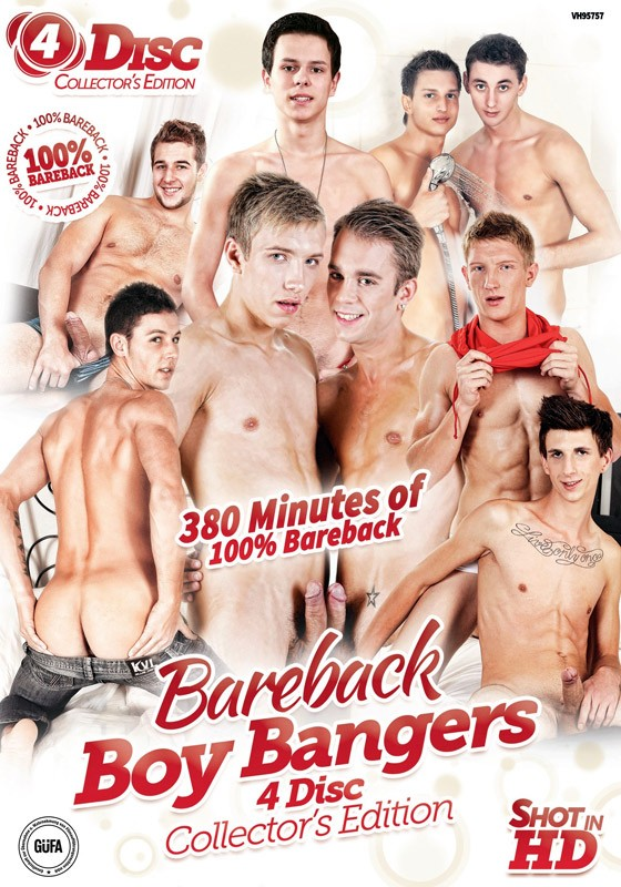 Bareback Boy Bangers Collector's Edition DVD - Front