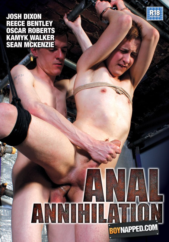 Boynapped 32: Anal Annihilation DVD - Front