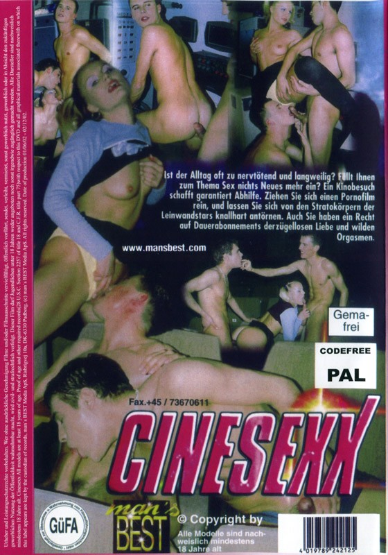 Cinesexx DVD - Back